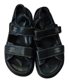 Chanel Incredible Sandals!!! Black Sandals. Get the must-have sandals of this season! These Chanel Incredible Sandals!!! Black Sandals are a top 10 member favorite on Tradesy. Save on yours before they're sold out!