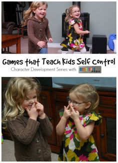 Games that Teach Kids Self Control - Character Development Series