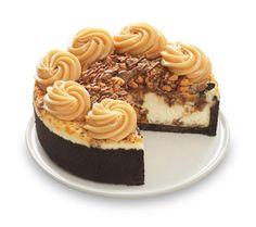 Adam's Peanut Butter Cup Fudge Ripple cheesecake