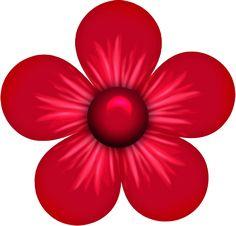 692 Best Clipart Spring Flowers Images In 2019 Flower Art