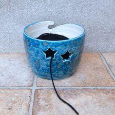 Yarn bowl .....knitting or crochet .....hand thrown ceramic pottery