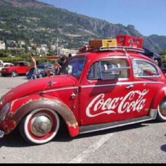Cola bug VW - whoa! awesome! :)