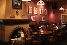 The Cat & Fiddle's main room.