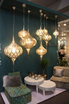 NYNOW 2017 Highlights Home Decor Trends Big and Small - Home .- NYNOW 2017 Highlights Hauptdekor-Trends Groß und Klein – Haus Styling NYNOW 2017 highlights home decor trends big and small - Morrocan Decor, Moroccan Lamp, Moroccan Design, Modern Moroccan Decor, Moroccan Bedroom, Moroccan Lanterns, Style At Home, Deco Restaurant, Farmhouse Side Table