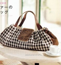 Lovely Handmade Bags 75 - Cotton Time Special - Japanese Sewing Pattern Book for Women - B50,2 -  JapanLovelyCrafts by JapanLovelyCrafts, via Flickr