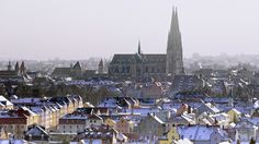 Winter in Regensburg by Robert Schüller, via Flickr