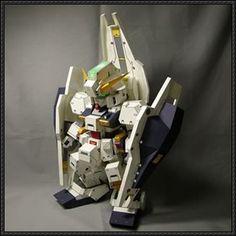 SD RX-121 Gundam TR-1 Hazel Free Paper Model Download - http://www.papercraftsquare.com/sd-rx-121-gundam-tr-1-hazel-free-paper-model-download.html