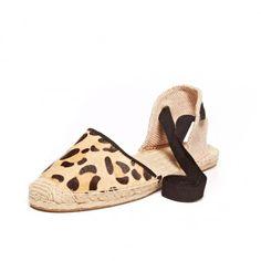 Soludos Leopard Print Sandal