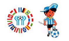 Gauchito, Argentina, 1974 World Cup Mascot & Logo