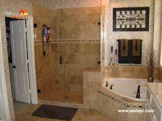 #lasmejorescasasdemexico LAS MEJORES CASAS DE MÉXICO. Para los baños, paredes y pisos, se pueden colocar losas individuales de travertino, ya sea en tamaños medianos o pequeños; los cuales lograrán darles un gran encanto a estos espacios. Una de las ventajas de este material, es que es altamente impermeabilizante. En Grupo Sadasi, le invitamos a conocer nuestros desarrollos a través de nuestra página en internet. www.sadasi.com
