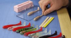 DIY: Make Your Own Paddletail Soft Plastic Fishing Lures