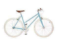 Vélos de ville : Vélo de ville femme Bleu Plus