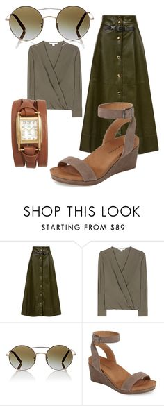 """""""more from olive"""" by glasspaperscizzors ❤ liked on Polyvore featuring Sonia Rykiel, Diane Von Furstenberg, Oliver Peoples, Lucky Brand and La Mer"""