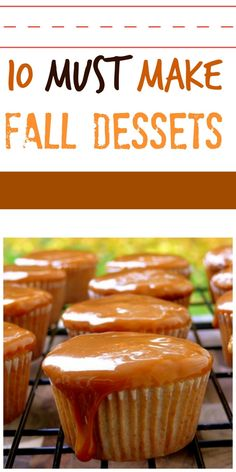 10 Must Make Fall Desserts from NoblePig.com