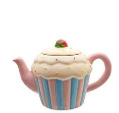 cupcake teapot - Google Search