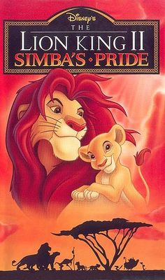 """LION KING II : SIMBA'S PRIDE"" (1998)"