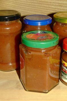 Pečený jablkový lekvár (fotorecept) - obrázok 7 Mason Jars, Food And Drink, Med, Spreads, Syrup, Sandwich Fillings, Mason Jar, Jars