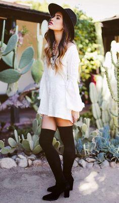 socks-street-style-boots-dress
