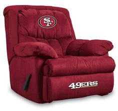 Use this Exclusive coupon code: PINFIVE to receive an additional 5% off the San Francisco 49ers Home Team Recliner at SportsFansPlus.com