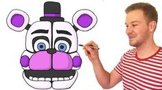 How to Draw Funtime Freddy from FNaF Sister Location #fnaf #funtimefreddy #sisterlocation #drawing