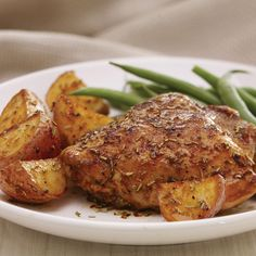 Recipe Inspirations Rosemary Roasted Chicken with Potatoes from McCormick.com