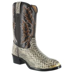 Durango Youth Snake Print Western Boots