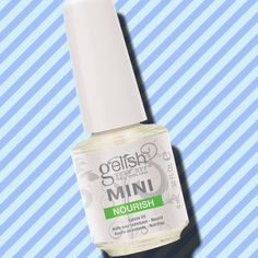 Best Products to Strengthen Your Nails: 1) Gelish Mini Nourish Cuticle Oil, $5. Made with grapeseed oil, kukui nut oil, sesame oil and vitamin E oil, this cuticle oil restores essential oils in nails to keep them soft and healthy. Using cuticle oil twice a day is the best way to get stronger nails.