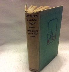 Return-I-Dare-Not-Margaret-Kennedy-1st-edition-1931-Doubleday-Doran-good