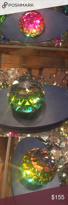 Authentic swarovski 40mm Paperweight Every color of the rainbow! Swarovski Other