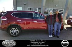 Congratulations to Mr And Mrs Everett Winch on your new car purchase from David White at Fenton Nissan of Lee's Summit! #NewCar