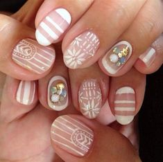 16 negative space nail designs to try this spring