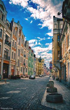 Киев. Воздвиженка