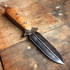 Custom Made Boot Knife (Dagger) Designed By Law Enforcement Personnel
