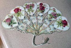 """""""A Gift of Love"""" Victorian Fan"""