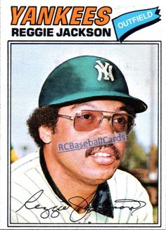 Reggie Jackson, went to Arizona State on a football scholarship. His roommate bet him he couldn't make the baseball team. He went out for baseball and the rest is history. By the way, at ASU he played for Bobby Cox! Go Yankees, New York Yankees Baseball, Sports Baseball, Baseball Players, Baseball Season, Baseball Tickets, Pirates Baseball, Baseball Art, Baseball Stuff