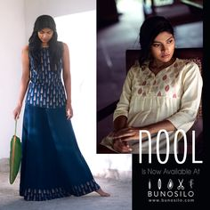 The magic of hand-woven and hand-printed fabric is sensational! Bunosilo loves to work with brands that support ethnic hand-weaving, hand-printing and hand-made garments! Now introducing, an all new collection by Nool right here at Bunosilo.