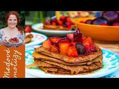 Raňajky u starej mamy, to boli domáce maslové makovky s hrozienkami. Chutili najlepšie na desiatu či olovrant s kakaom a jej milým úsmevom. Poďme piecť. French Toast, Breakfast, Healthy, Recipes, Food, Morning Coffee, Meal, Food Recipes, Essen