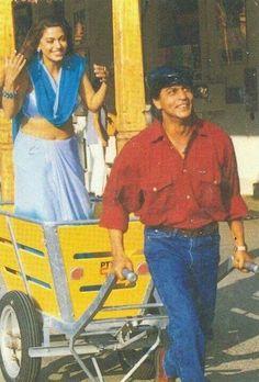 SRK and Juhi