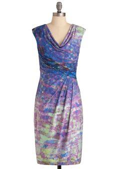 In the Impressionist's Garden Dress | Mod Retro Vintage Dresses | ModCloth.com