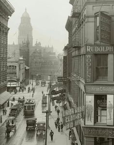 Farmer Street, Detroit 1910