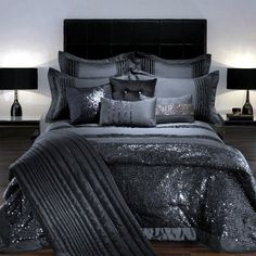 laura bielecki bedding Kylie Minogue at Home – Luxury Bedding Luxury Interior Design . Dream Bedroom, Home Bedroom, Bedroom Decor, Bedroom Ideas, Bedroom Furniture, Bedroom Black, Master Bedrooms, Bedroom Designs, Sparkly Bedroom
