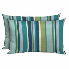 Better Homes and Gardens Outdoor Patio Lumbar Pillow, Set of Two, Multiple Patterns - Walmart.com
