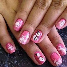 Snowman pink