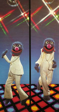 Have a groovy night!I feel like crap so peace.  Behind Miss P, by far my 2nd favorite Muppet