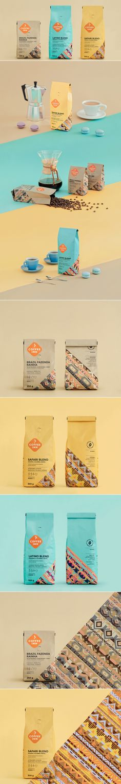Coffee Inn Coffee — The Dieline - Branding & Packaging Design