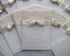 Items similar to Baptism Invitation, Christening Invitation, Wedding Invitation, Cream Baptism Invitation, First Communion Invitation on Etsy