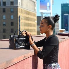 On the go with DVF Global Ambassador Brittany Hampton and the #DVFSecretAgent http://on.dvf.com/1Ear2vZ