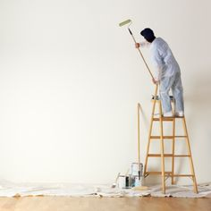 painter on ladder - Google Search