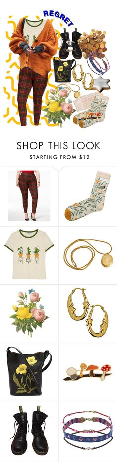 """i got somethin' for you"" by princesstagram ❤ liked on Polyvore featuring Hahn, Hue, Bonne Maison, Monki, STELLA McCARTNEY, Calourette, Dr. Martens and Topshop"