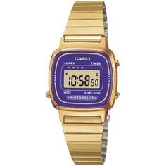 Call @ 9769465202. Catch Casio LA670WG-6 for Women (Digital, Dress Watch) for your lady from Shopattack.in at the price of Rs.3460/- only and make your woman happy.